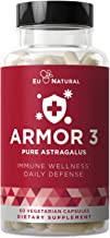 Armor 3 Astragalus Pure 1000 Mg – Healthy Immune System Function, Stress Support, Potent Strength for Seasonal Protection ...