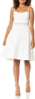 Dress the Population womens Harlow Sleeveless Fit & Flare Short Party Dress Dress