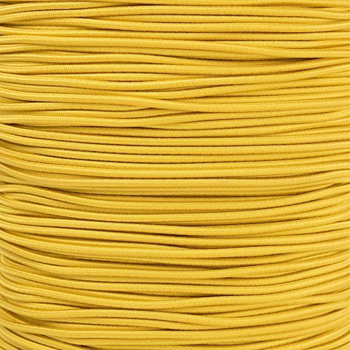 Paracord Planet 2.5mm Shock Cord – 8 Colors – 10, 25, 50, 100 Feet – Nylon Bungee Elastic Stretch Cord