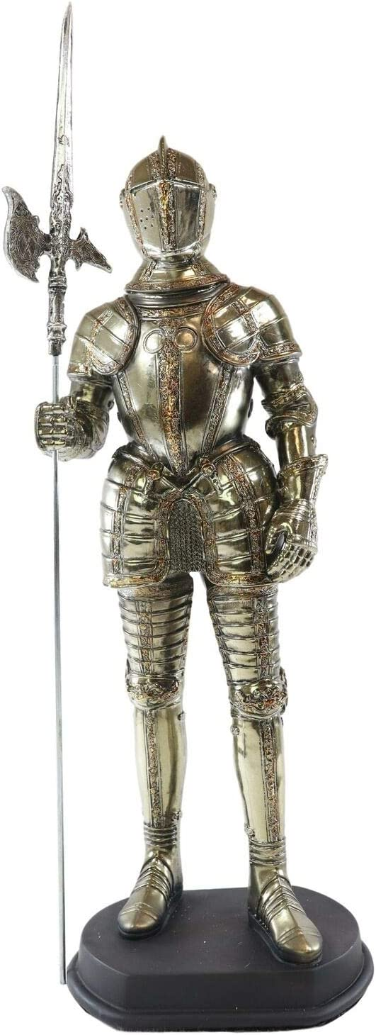 Medieval Fleur De Popular product Lis French Halberdier o Suit Pikeman Tulsa Mall in Knight