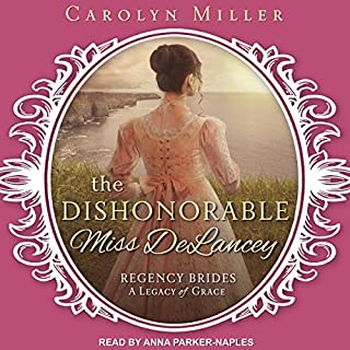 The Dishonorable Miss Delancey cover art