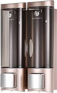 Anself CHUANGDIAN Wall Mount Manual Soap Dispenser Double Liquid Shampoo Shower Gel Dispenser 200ml2