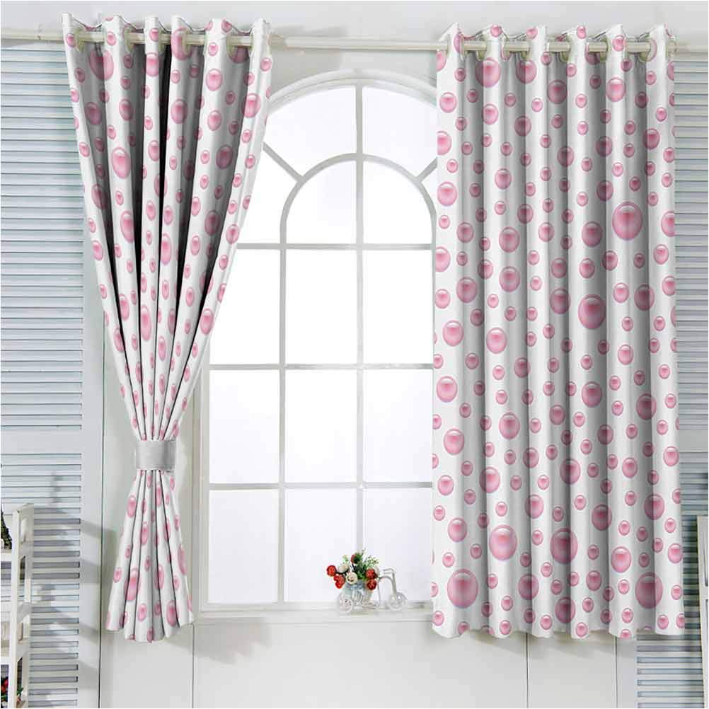 Pearls Draperies Grommet for Kids with Large Room Pattern Small Max 70% OFF Miami Mall