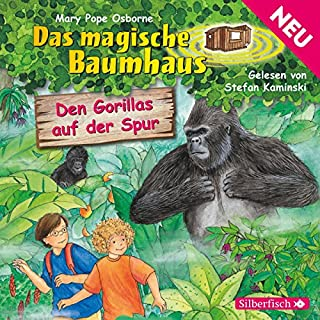 Den Gorillas auf der Spur (Das magische Baumhaus 24) Titelbild