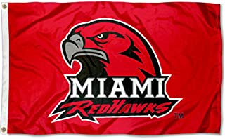Miami Redhawks MU University Large College Flag