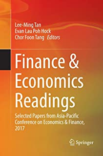 Finance & Economics Readings: Selected Papers from Asia-Pacific Conference on Economics & Finance, 2017