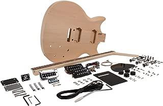 Seismic Audio - SADIYG-11 - Premium PRS Style DIY Electric Guitar Kit - Unfinished Luthier Project Guitar Kit