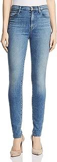 J Brand Womens Carolina Super High Rise Skinny Jeans