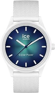 Ice-Watch - ICE solar power Abyss - Montre blanche avec bracelet en silicone