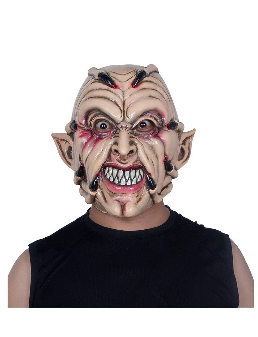 減らすパレード粘液ハロウィンマスクホラー大人男性フルフェイスラテックスヘッドギア