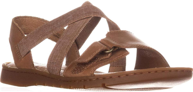 Född kvinnor Britton Britton Britton läder Open Toe Casual Slide Sandals, bspringaaa, Storlek 6.0  bra priser