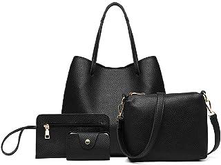 ميس لولو حقيبة للنساء-اسود - مجموعة حقائب اليد