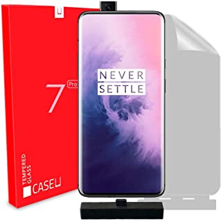 Case U Full Adhesive Plastic Screen-Protector Film with Applicator for OnePlus 7 Pro/OnePlus 7T Pro - Pack of 1