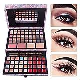 Pure Vie® 85 Colores Sombra De Ojos Corrector Rubor y Brillo de Labios Paleta de Maquillaje Cosmética - Perfecto para Sso Profesional y Diario