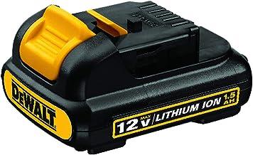 DEWALT Bateria 12V MAX* Li-Ion 1.3 Ah DCB120-B2