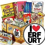 I love Erfurt - schöne Geschenke Erfurt - Schoko Geschenk DDR