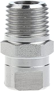 """D DOLITY High Pressure Washer Spray Fan Nozzle - 1/4"""" - Screw Type - 65 Degree"""