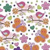 Amscan 2.5 oz Confetti Award Ribbon Tweet Baby Girl Party Accessory