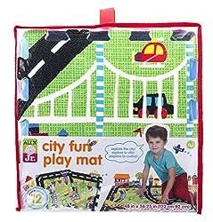A child\'s play mat.