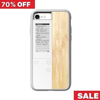 【Oaxis 】 Inkcase IVY for iPhone SE 7/8 ケース アイフォンケース スマホケース スマホカバー 防水防塵 耐衝撃 時計 日時 リマインダー 壁紙 電子書籍 電子ブック リーダー E-reader メイプル