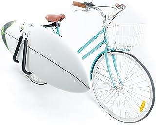 Onefeng Sports Surfboard Bike Rack Bicycle Carrier Rack Surf Surfing Holder