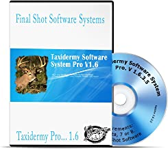 taxidermy software
