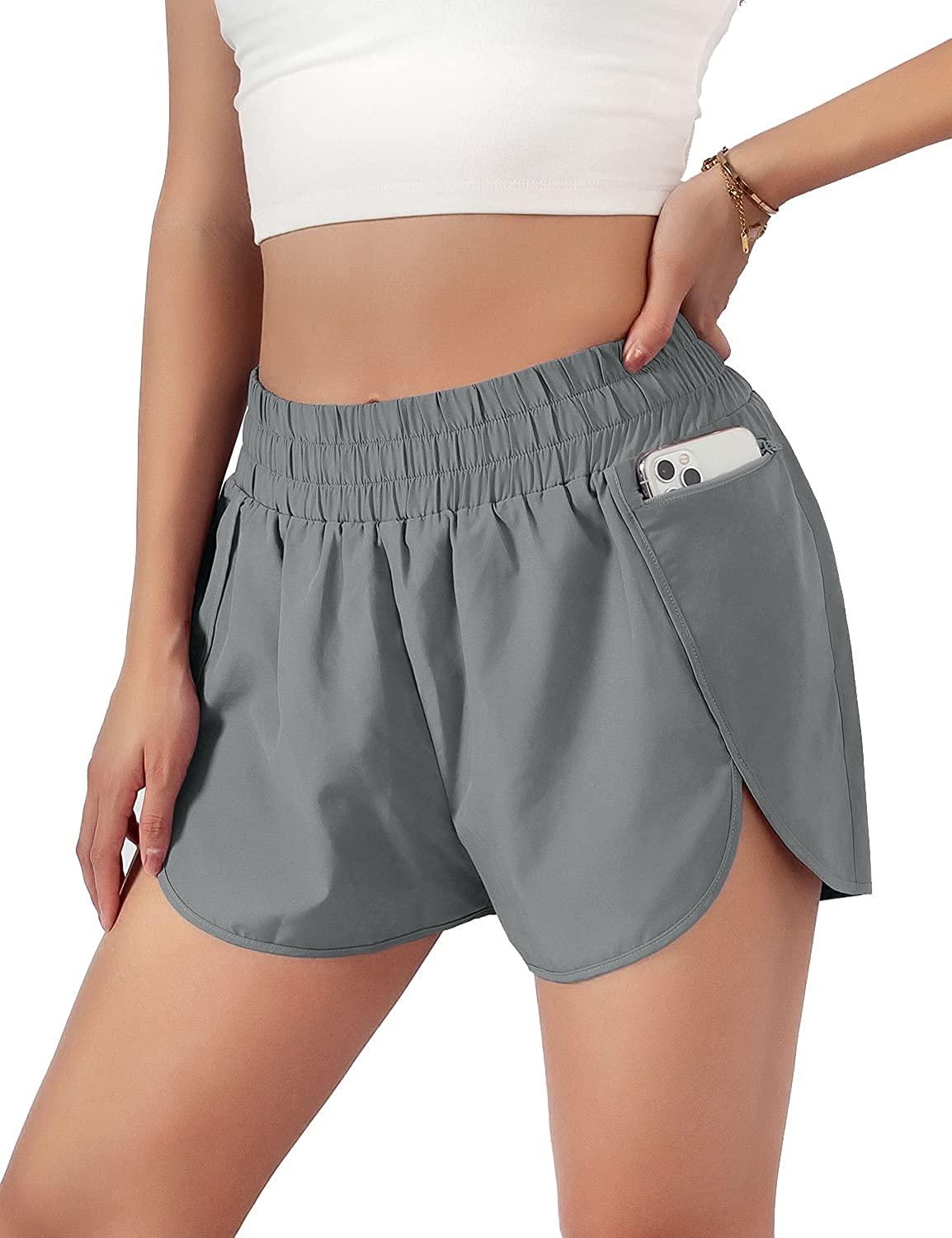 Blooming Jelly Womens Quick-Dry Running Shorts Layer Elast Sport 70% OFF Oakland Mall Outlet