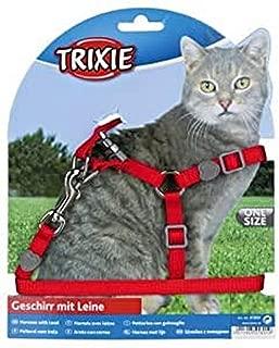Trixie 4182 19 31 cm//8 mm Petral y tirador gatitos surtido: colores aleatorios 1,20 m