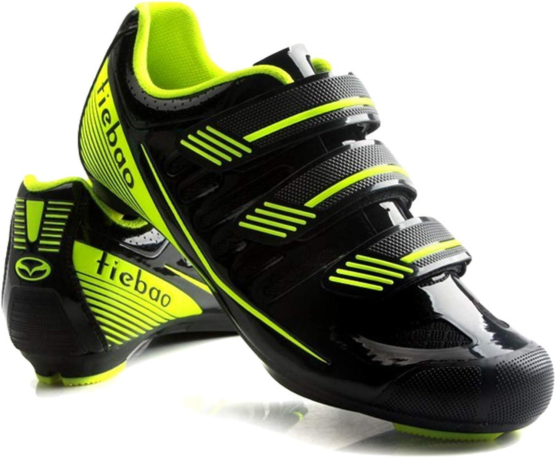 Wthfwm Rennradschuhe für Herren Leichte, Starke Schuhe für den Radsport Atmungsaktive Fahrradsport-Trekkingradschuhe