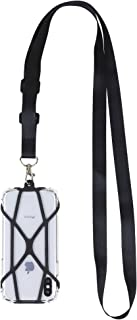 Gear Beast Universal Web Cell Phone Lanyard Compatible with iPhone, Galaxy & Most Smartphones, Includes Phone Case Holder,...