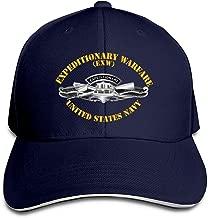 YANGKCAP Expeditionary Warfare Men Adjustable Low Profile Baseball Cap Dad Hat