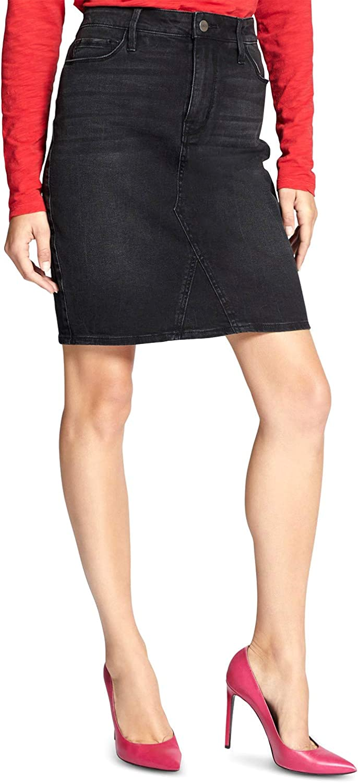 Sanctuary Clothing Women's A-Line Denim Jean Skirt