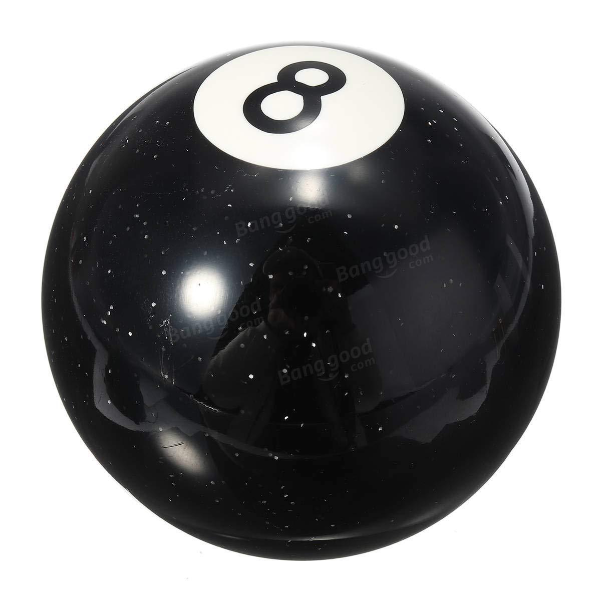 Pomo universal de 8 bolas para billar de coches, palanca de cambio ...