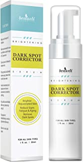 Beaueli Dark Spot Corrector Brightening Serum Skin Care For Face and Body, Effective Ingredients with Potent Vitamin C, Hyaluronic Acid, Niacinamide, Vitamin E, Anti Aging Treatment