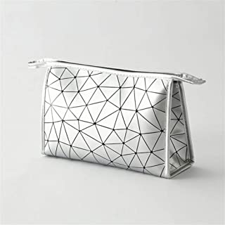 TIANXI Cosmetic Bag, Toiletry Bags Ideal for Travel Vacation Fitness Camping Bathroom and Party outdoor Activities Ues for Jewellery Beauty Cosmetics and More (Color : Ivory)
