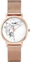 Cluse Women's La Roche Petite 33mm Leather Band Metal Case Quartz Analog Watches Collection