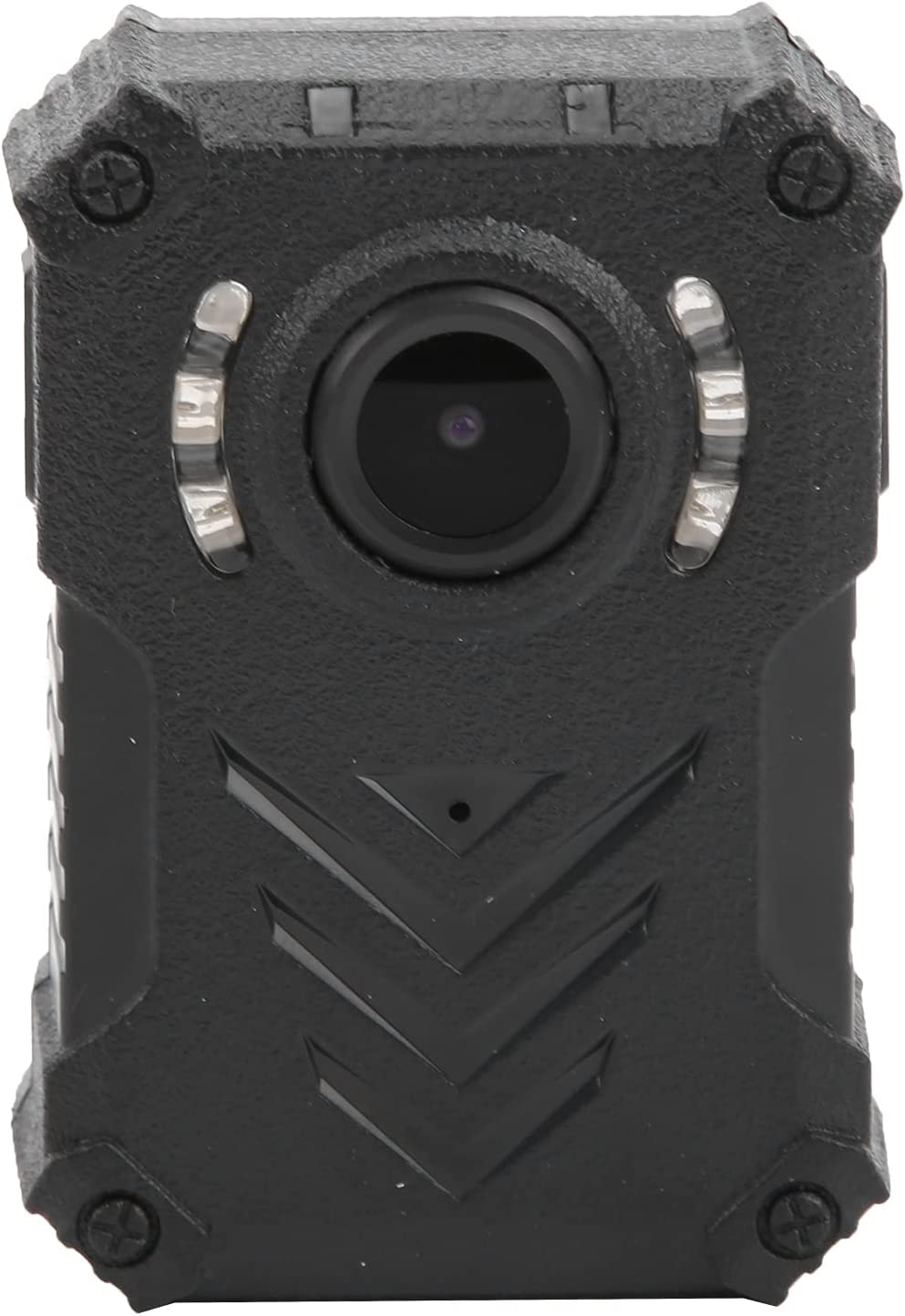 LED Worn Camera, Wide Viewing Angle Rechargeable Body Camera with Infrared LEDs for Outdoor for Home for Enforcement Recorder for Security