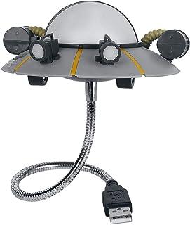 Paladone Rick & Morty Ricks Space Ship USB Light, Grey