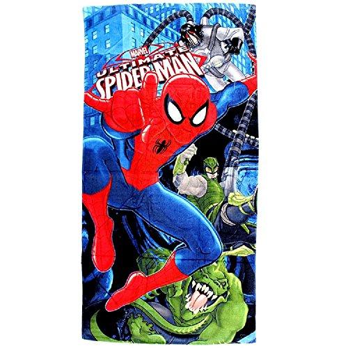 Spiderman Badetuch