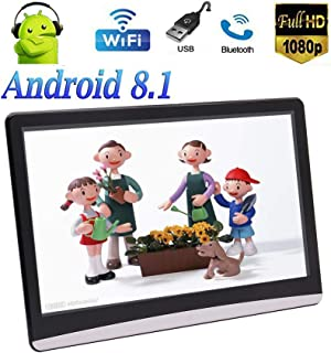 EinCar 11.6 Inch Android 8.1 Chip 2GB+16GB Ultra-Thin Full Touch Screen Headrest Monitor SD USB HDMI Input Media Multimedi...