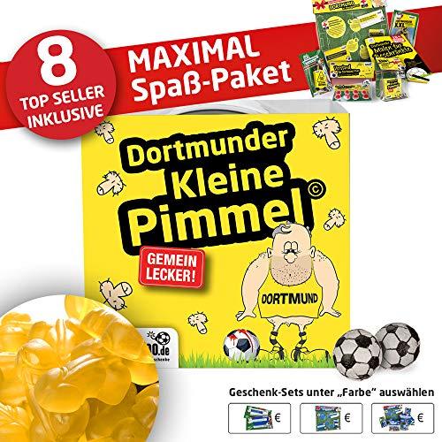 Dortmund 09 Trainingshose ist jetzt KLEINE PIMMEL Set 2: MAXIMAL-Spass-Paket by Ligakakao.de schwarz-gelb Herren Puma Jogging lauf-Hose Trainingsanzug