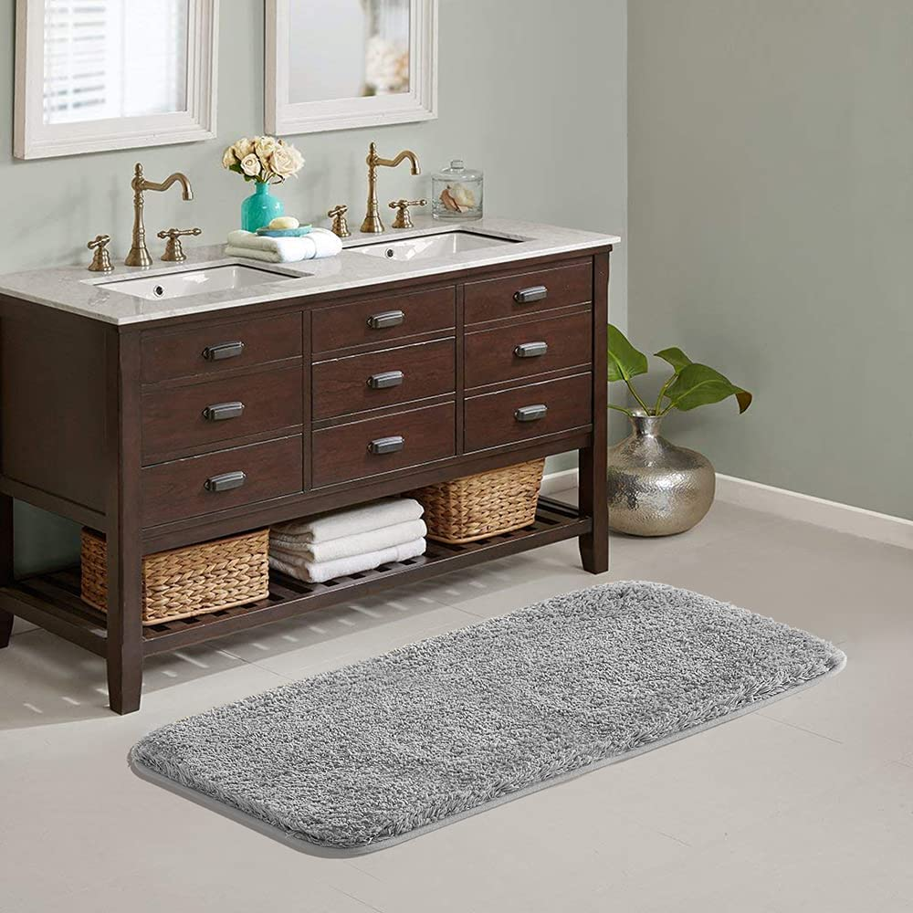 Suchtale Free shipping Large Bathroom Rug Today's only Extra Soft Absorbent and Shaggy Bath