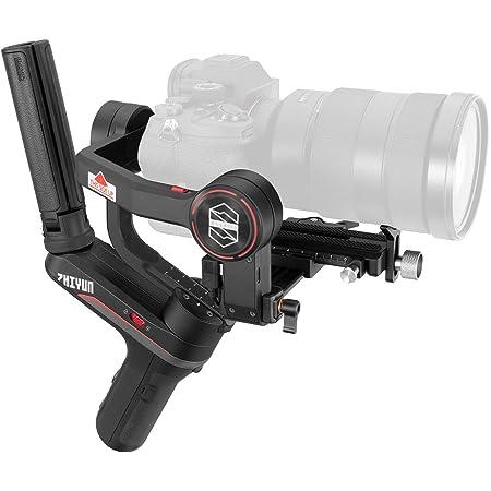Zhiyun WEEBILL-S [Offiziell] 3-Achsen Gimbal Stabilisator für DSLR Kameras, Mirrorless Kameras mit Lens-Set