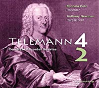 Complete Recorder Sonatas by G.P. TELEMANN (2014-01-28)