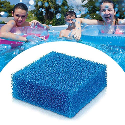 Hete-supply Öl absorbierender Schwamm für Whirlpool und Swimmingpool | Pool Filter Saugschwamm | Spa absorbieren Schlamm schmutz und Schaum | Perfect Pool Scum Disc Cleaner