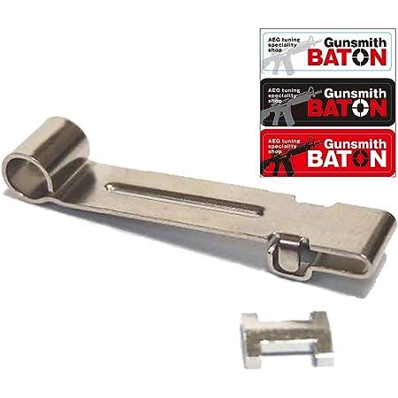 [ MAPLE LEAF ] 長掛ホップアジャストレバー [ VSR-10, Gスペック 等 ] [ Gunsmith BATON ステッカー付属 ] (IKEY スプリングテンション)