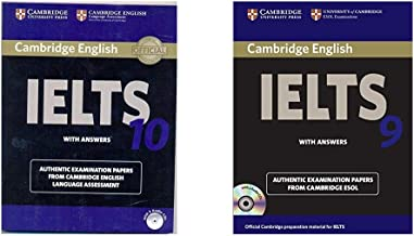 Cambridge IELTS 10 Student's Book with Answers (Book & CD) + Cambridge English IELTS 9: with Answers and 2 Audio CDs: With Answers (with CD) (Set of 2 Books)