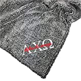 Go Greek Chic Alpha Chi Omega Embroidered Sherpa Throw Blanket (White)