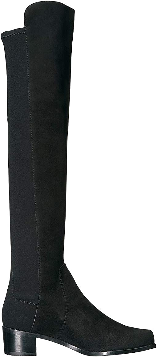 Black Suede/Stretch Gabardine