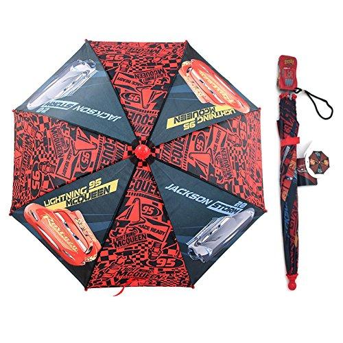 Disney Pixar Cars Kids Umbrella : Lightning McQueen and Jackson Storm